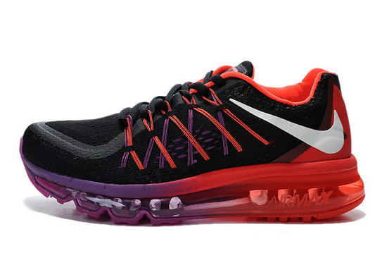 Womens Nike Air Max 2015 Red Black Purple Outlet Online